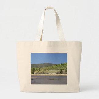 Lakes Hills Trees Sky Water Tote Bag