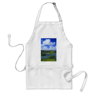 Lakes in the Azores Adult Apron