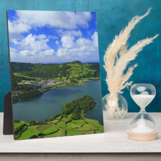 Lakes in the Azores Plaque