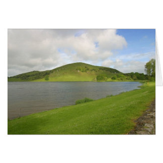 Lakes Loughs Gur Hills Clouds Ireland Greeting Cards