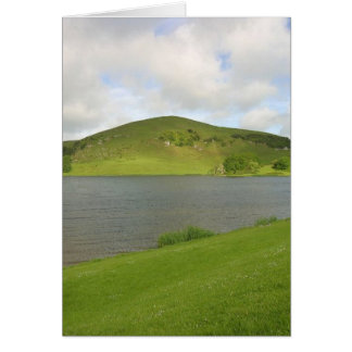 Lakes Loughs Gur Hills Clouds Ireland Cards