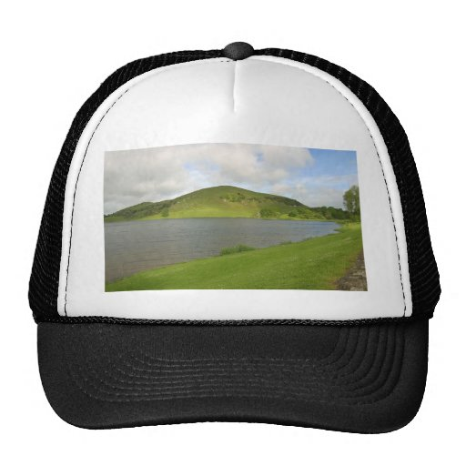 Lakes Loughs Gur Hills Clouds Ireland Hat