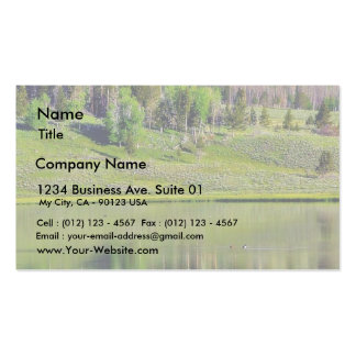 Lakes Reflections Business Card Template
