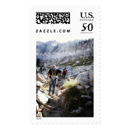 Lakes Trail, Sequoia National Park Stamp