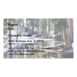 Lakes Trees Forrests Business Cards