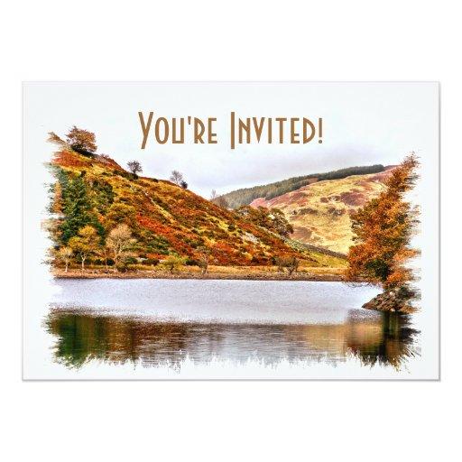 LAKES WALES 13 CM X 18 CM INVITATION CARD
