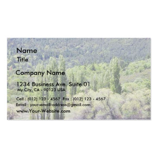 Lakes With Green Trees Marshes Business Card Templates