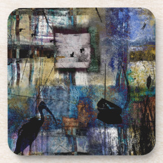 Lakeshore at Dawn Beverage Coaster