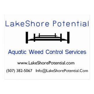 LakeShore Potential Logo JPG Postcard