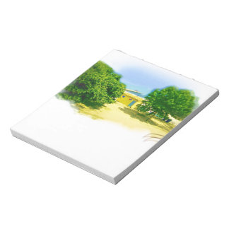 Lakeshores of the Chicago Beach Note Pad