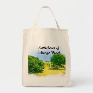 Lakeshores of the Chicago Beach Tote Bag