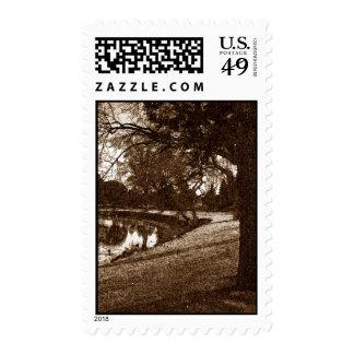 Lakeside 2 postage stamp
