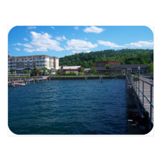 lakeside at Watkins Glen Postcard