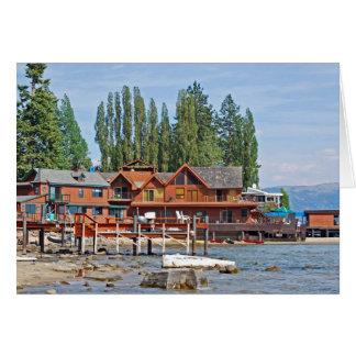 Lakeside Beach Card