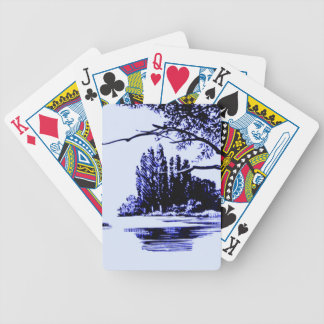 Lakeside Bicycle Playing Cards