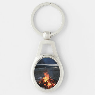 Lakeside Bonfire Keychain