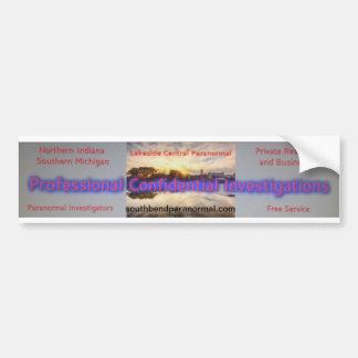 Lakeside Central Paranormal Bumper Sticker