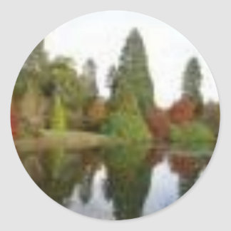 Lakeside Classic Round Sticker