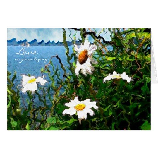 Lakeside Daisies Card