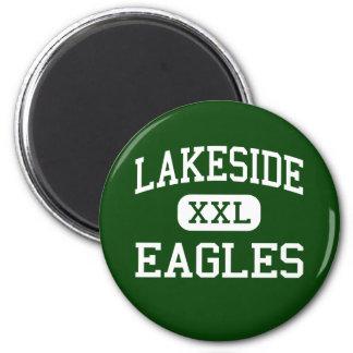 Lakeside - Eagles - High - Nine Mile Falls 2 Inch Round Magnet