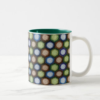 Lakeside Forest Blanket 11 oz Two-Tone Mug