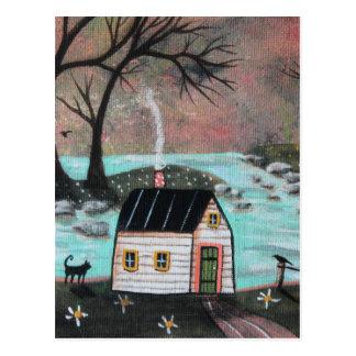 Lakeside Isle Seascape Postcard