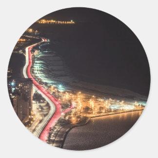 Lakeside Lights - Chicago, IL Classic Round Sticker