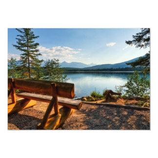 Lakeside Park Bench Card