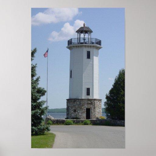 Lakeside Park Lighthouse Poster