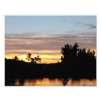 Lakeside Sunrise Photo Print