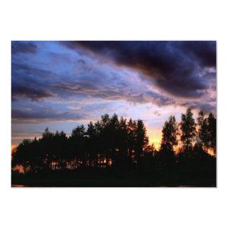 Lakeside Sunset Card