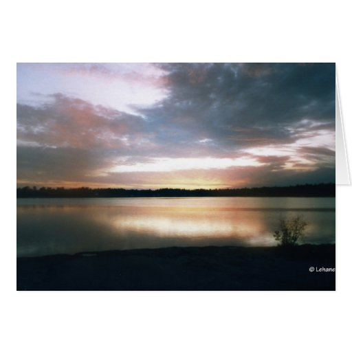 Lakeside--thinking of you greeting cards