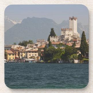 Lakeside town, Malcesine, Verona Province, Italy Coaster