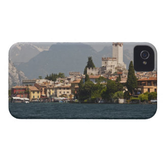 Lakeside town, Malcesine, Verona Province, Italy iPhone 4 Cover