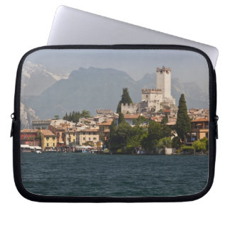 Lakeside town, Malcesine, Verona Province, Italy Laptop Computer Sleeve