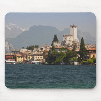 Lakeside town, Malcesine, Verona Province, Italy Mouse Pad