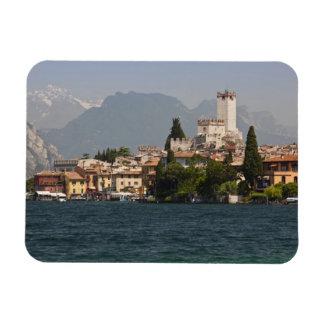 Lakeside town, Malcesine, Verona Province, Italy Rectangular Photo Magnet