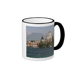 Lakeside town, Malcesine, Verona Province, Italy Ringer Mug