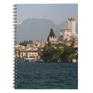 Lakeside town, Malcesine, Verona Province, Italy Spiral Notebook