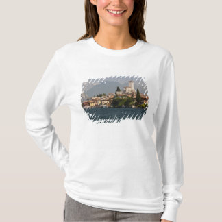 Lakeside town, Malcesine, Verona Province, Italy T-Shirt