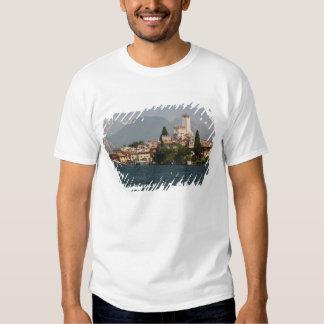 Lakeside town, Malcesine, Verona Province, Italy T Shirt
