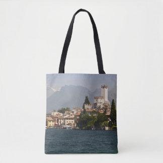 Lakeside town, Malcesine, Verona Province, Italy Tote Bag