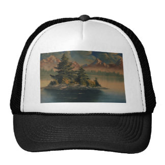 Lakeside Tranquility Trucker Hat