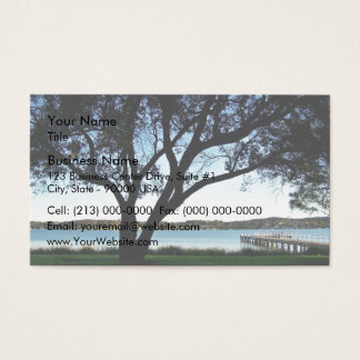 Lakeside view business card