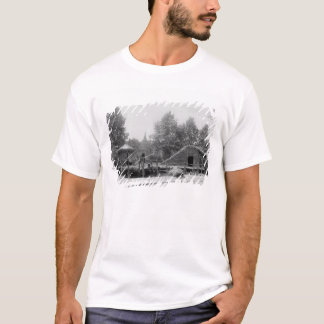 Lakeside village at the Universal Exhibition T-Shirt