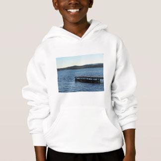 Lakeside wharf hoodie