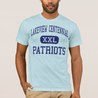 Lakeview Centennial - Patriots - High - Garland T-Shirt