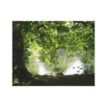 Lakeview Stretched Canvas Print