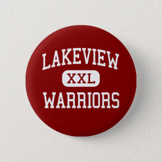 Lakeview - Warriors - Middle - Rossville Georgia Pinback Button
