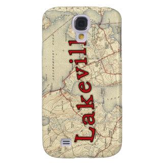 Lakeville Massachusetts Old Map Samsung S4 Case